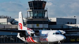 Air Antwerp resumes London City route