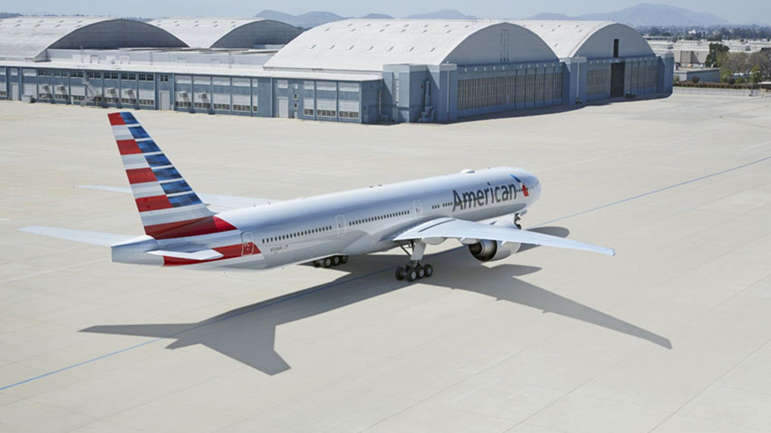 American Airlines Boeing 777 aircraft