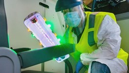 Boeing developing UV disinfectant tech for airlines
