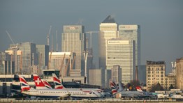 Nearly 240 jobs at risk at London City airport
