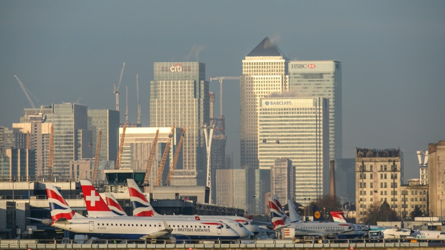 London City airport airfield