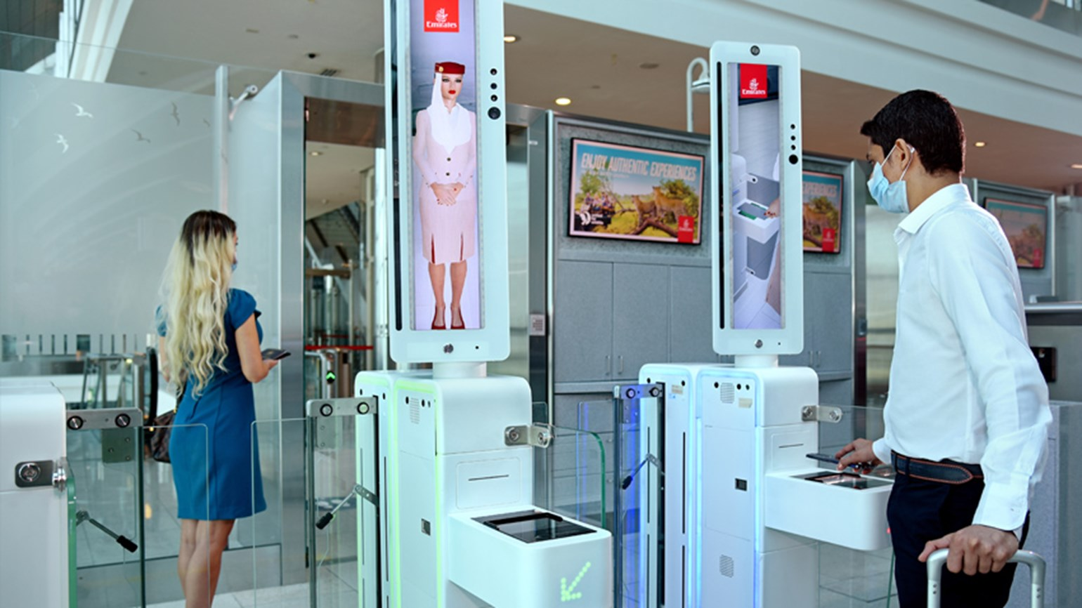 Emirates offers contactless airport experience in Dubai