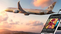Etihad replaces inflight print publications with digital