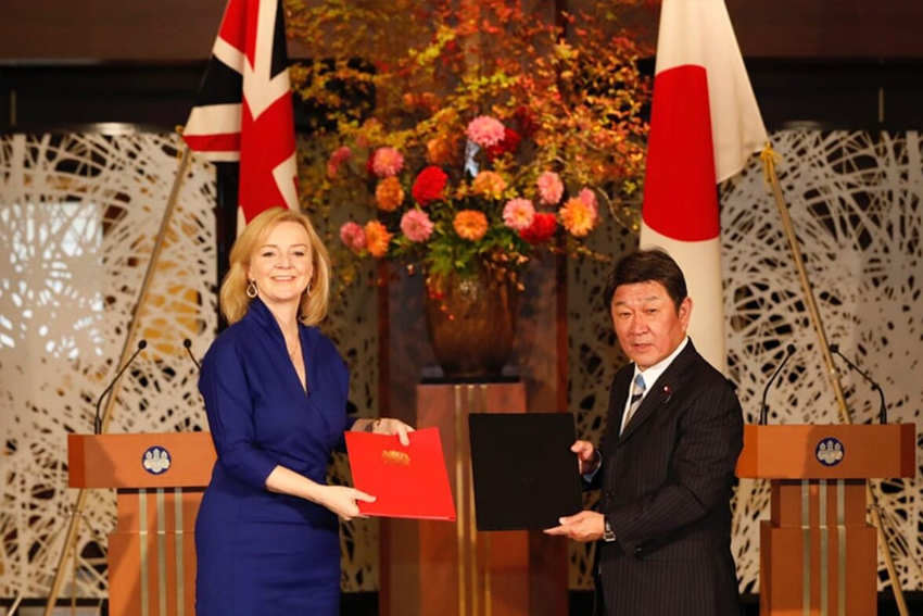 UK-Japan trade deal 'meaningless' without travel