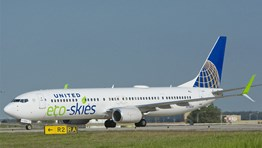 united airlines eco skies saf safs