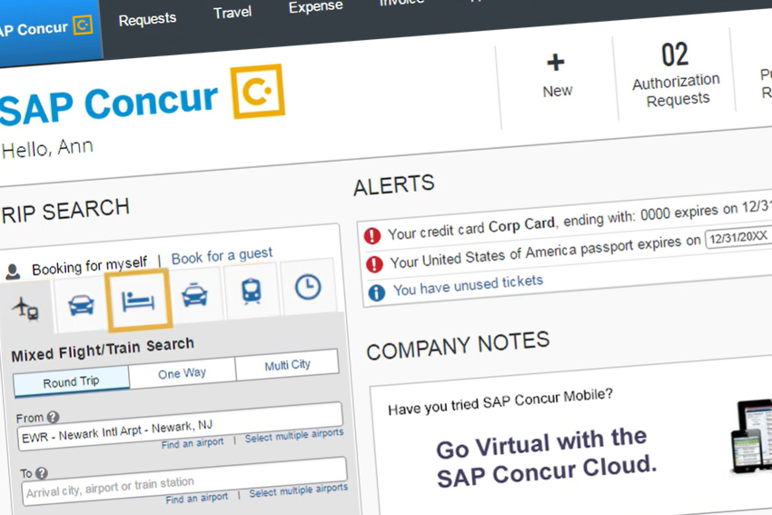 SAP projects no recovery for corporate travel in 2020