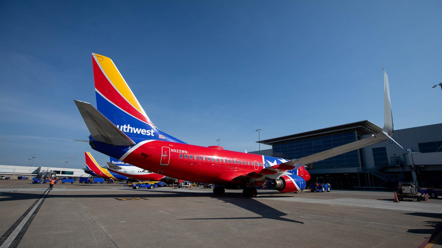 Southwest Airlines offers full business content on Amadeus