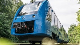 First order for hydrogen-powered trains in France