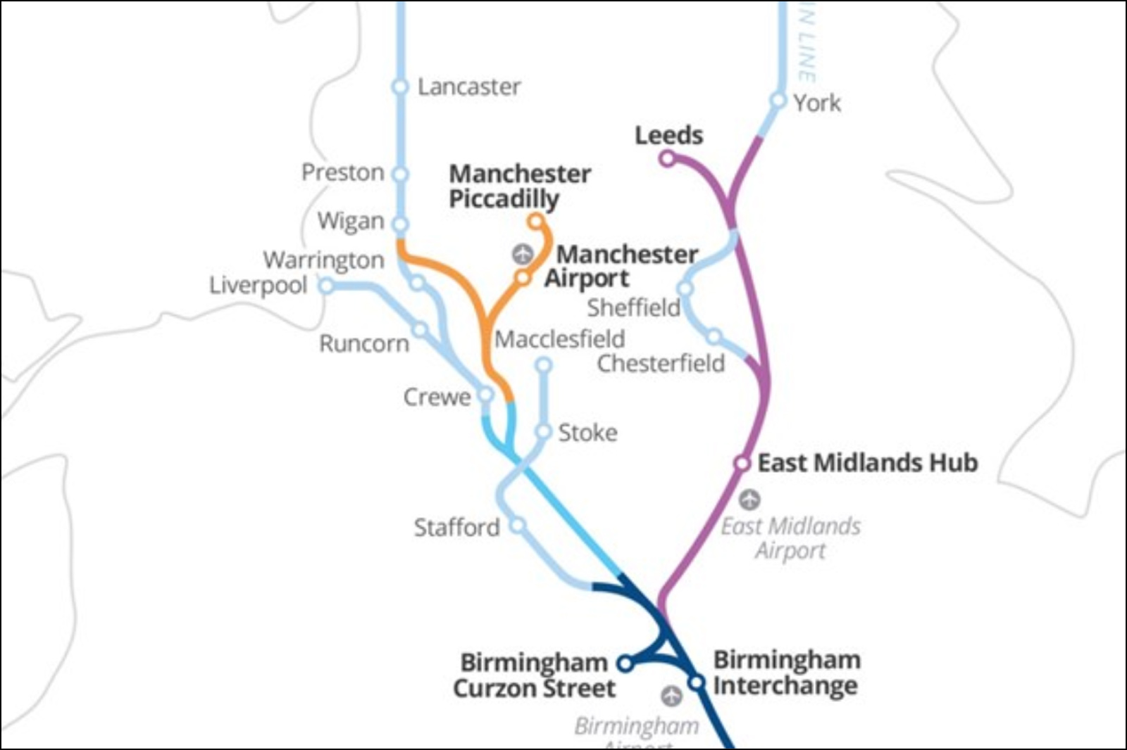 Manchester railway stations to expand with new HS2 proposals