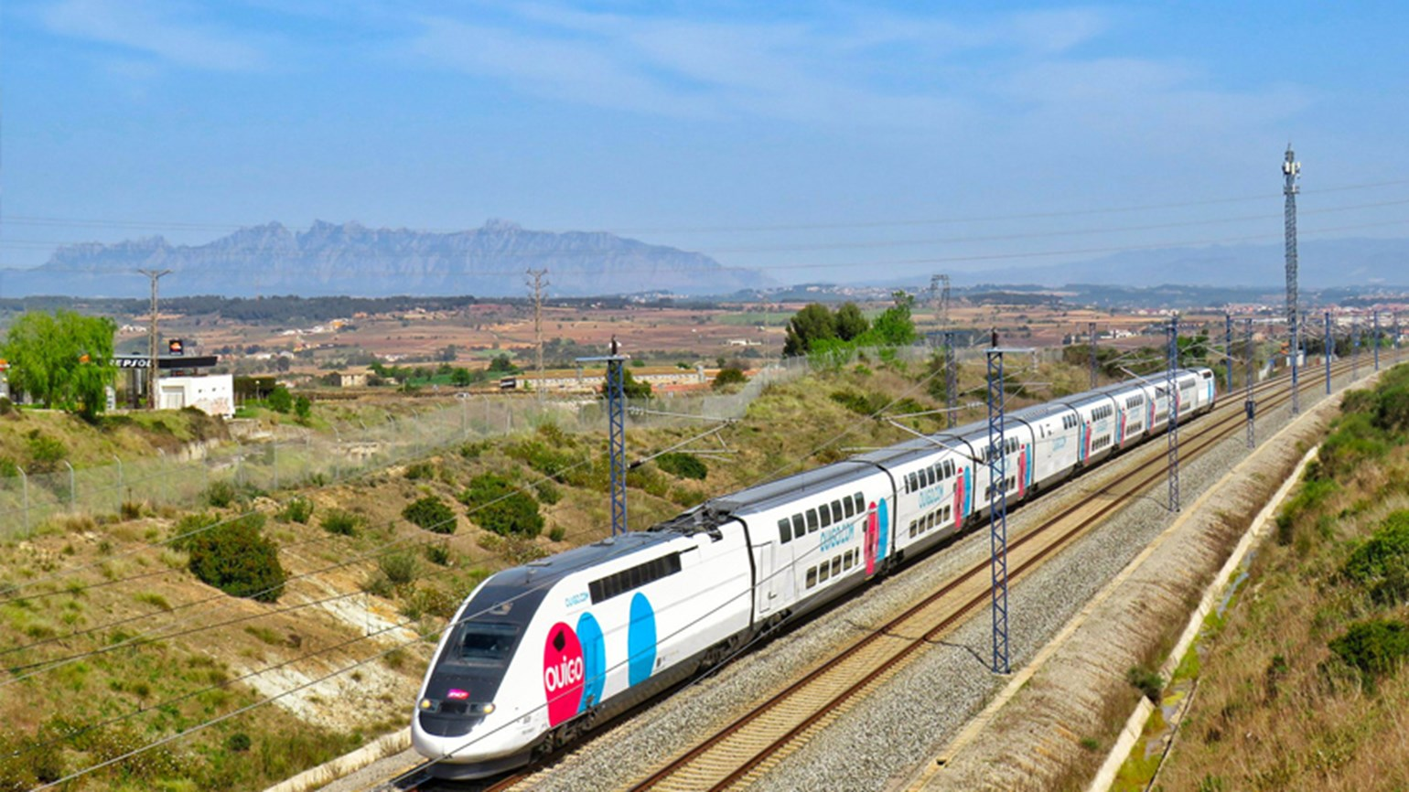 rail train ouigo services spain