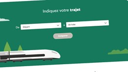 SNCF launches environmental comparison tool