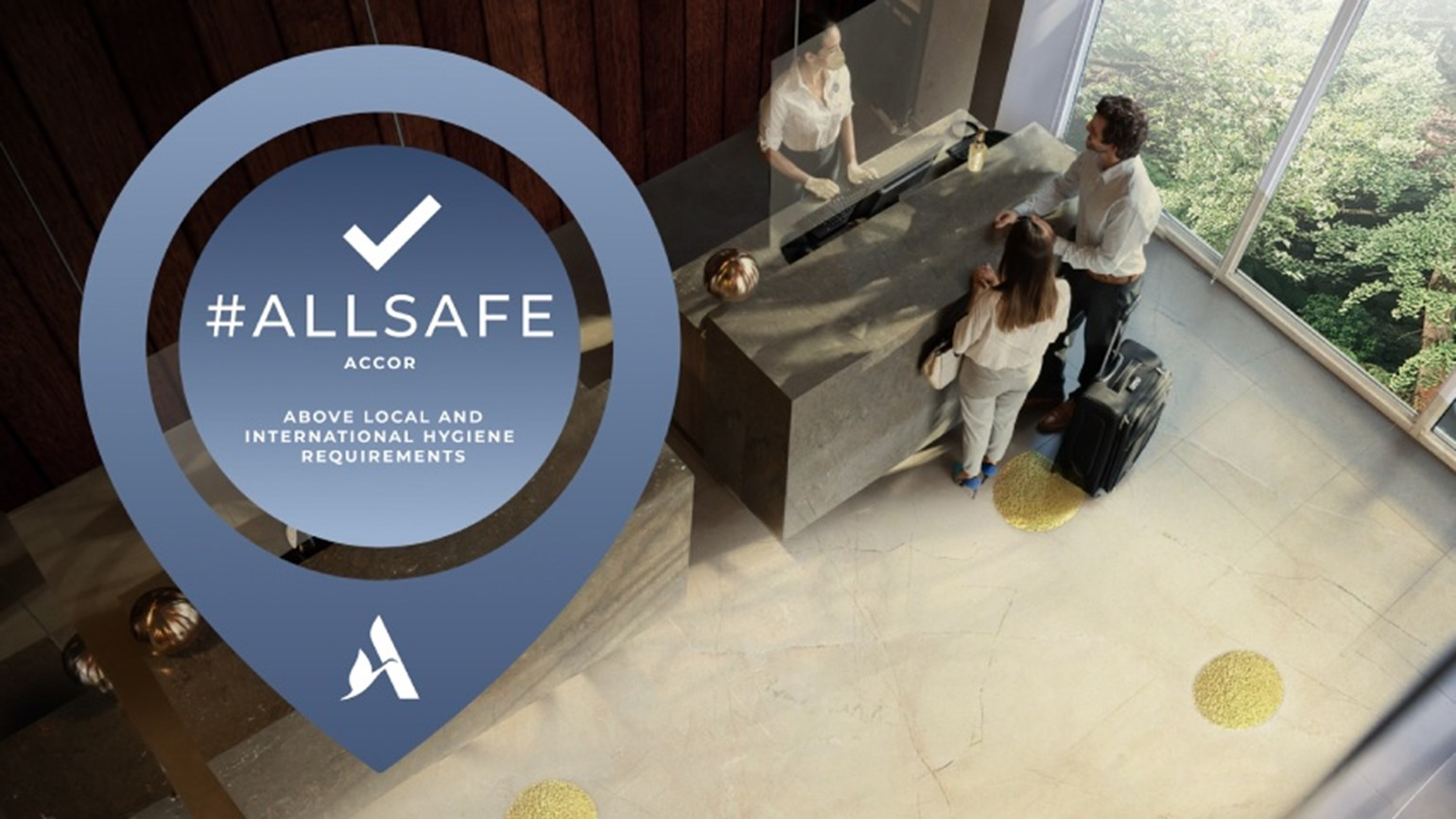 Accor ALLSAFE label
