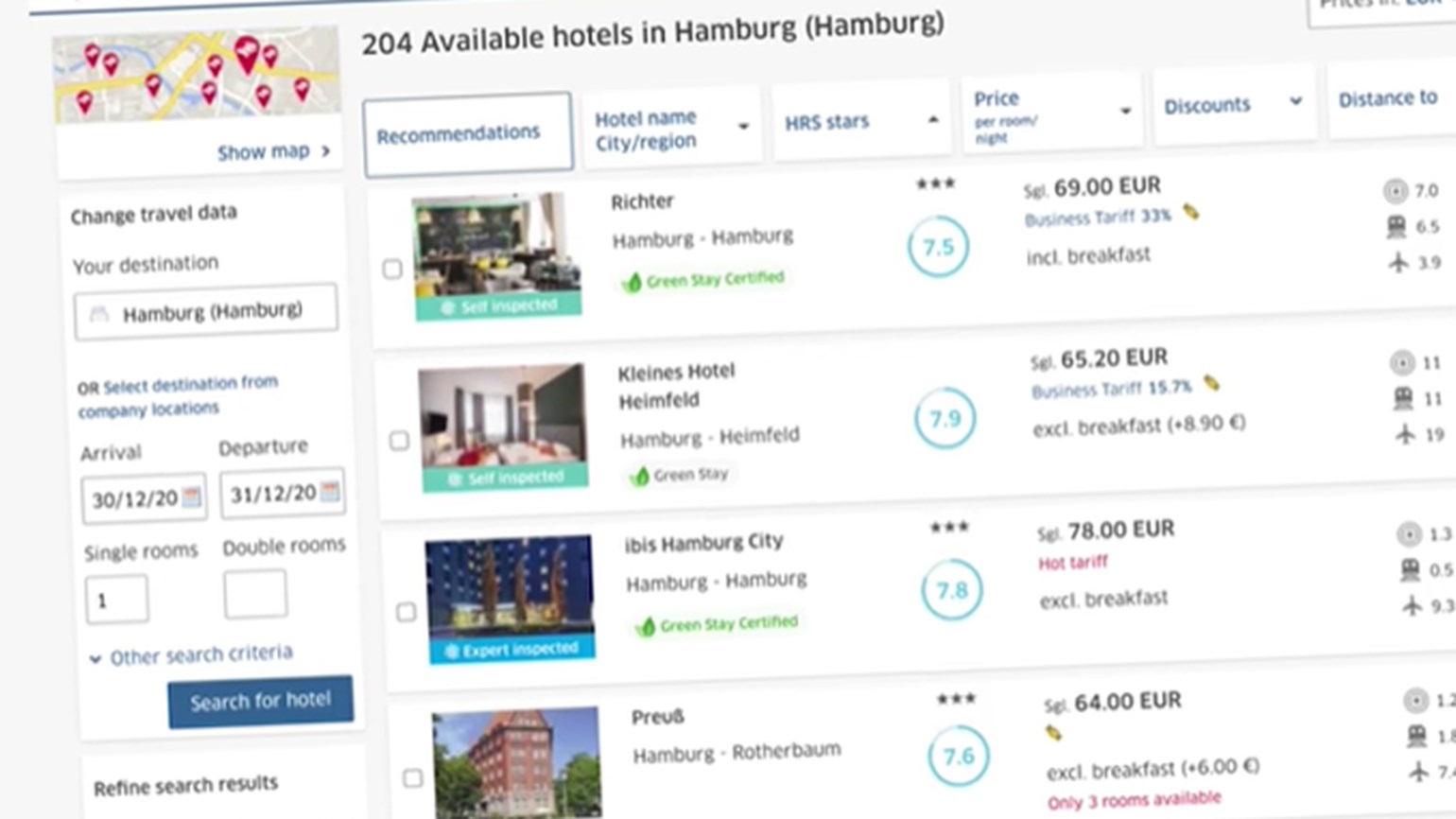 HRS launches hotel sustainability assessment and database