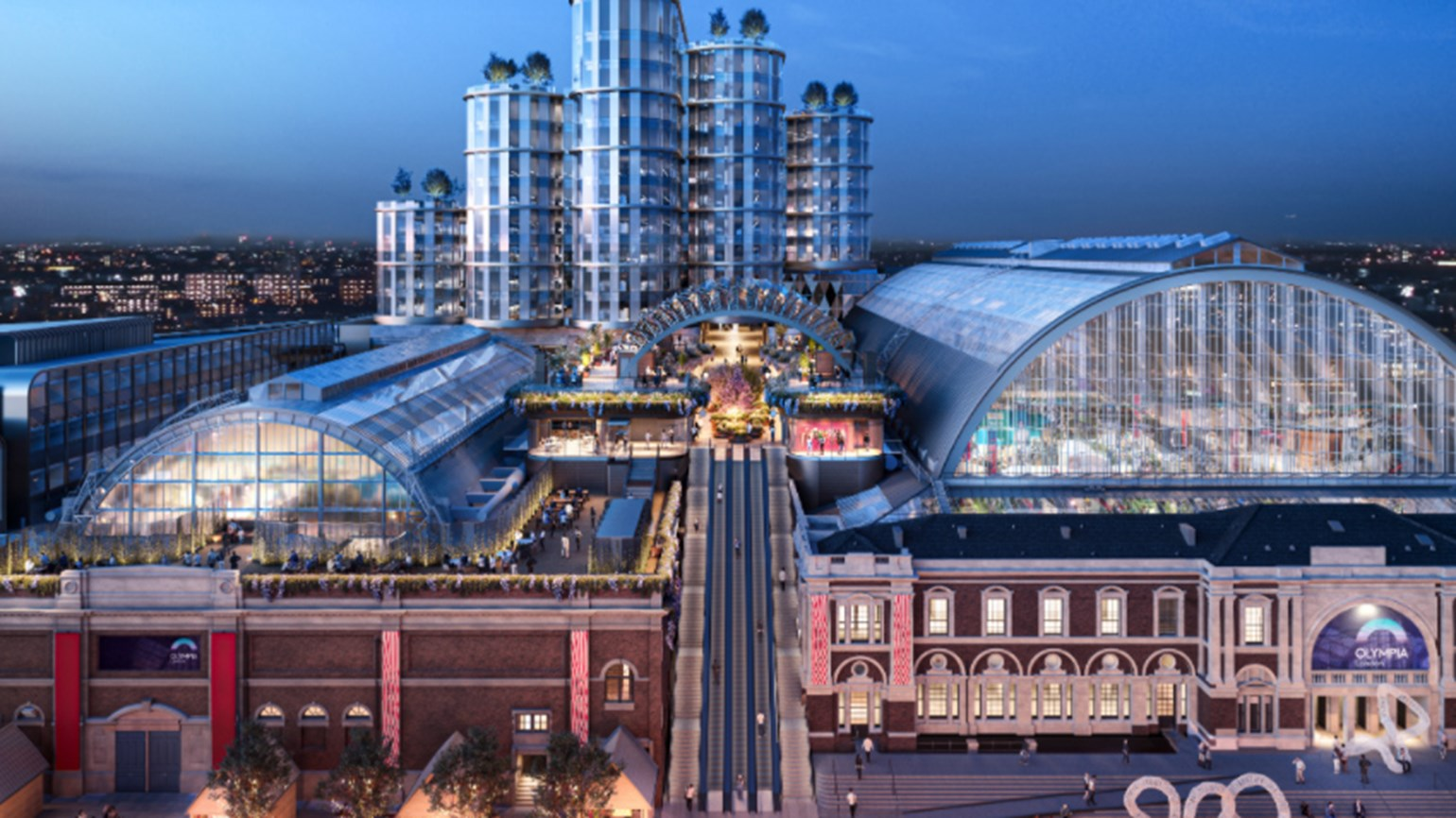 Hyatt to open hotel at redeveloped London Olympia