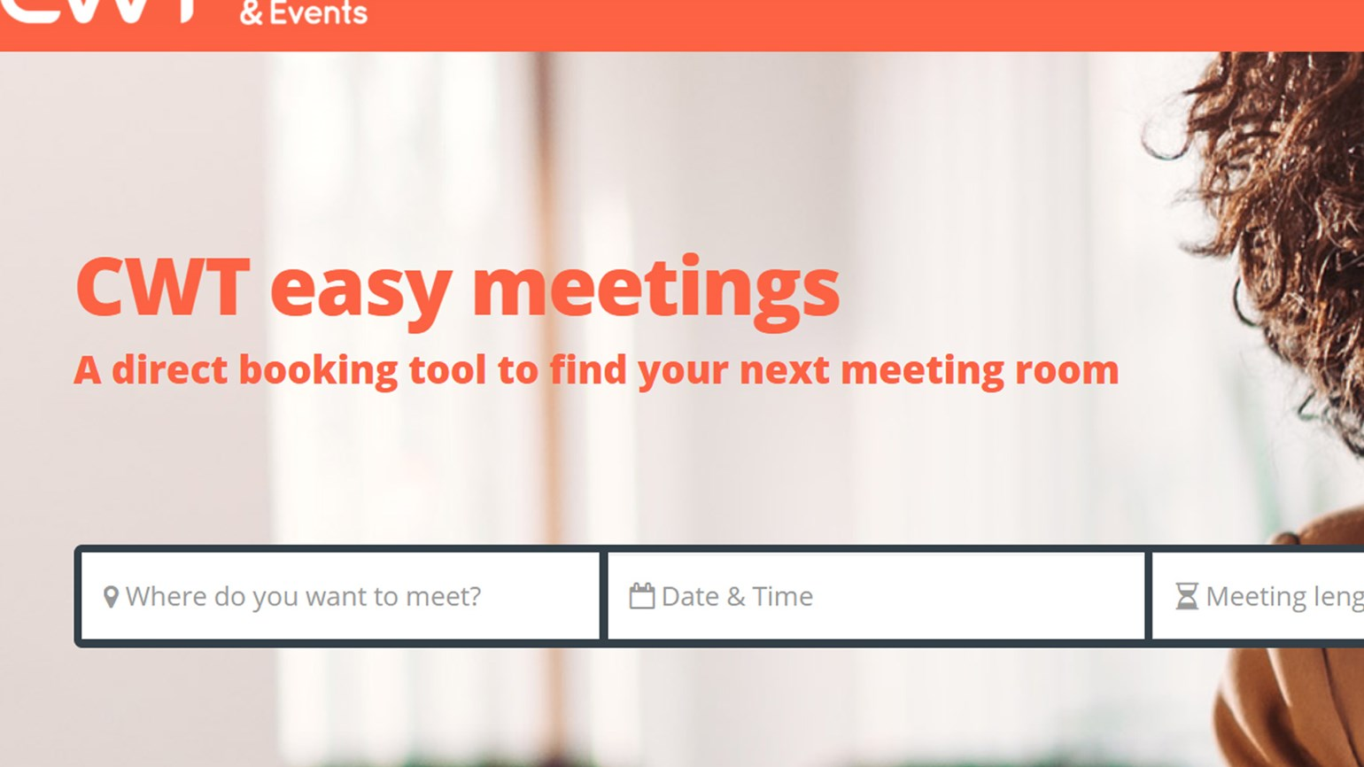 CWT launches booking platform for small meetings