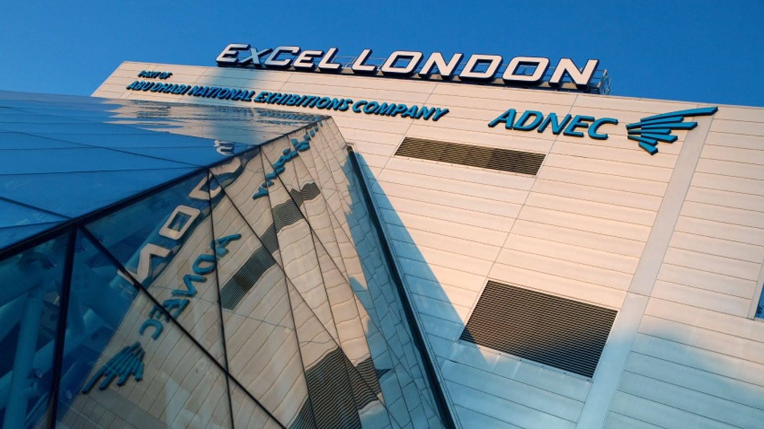 Exterior of Excel London