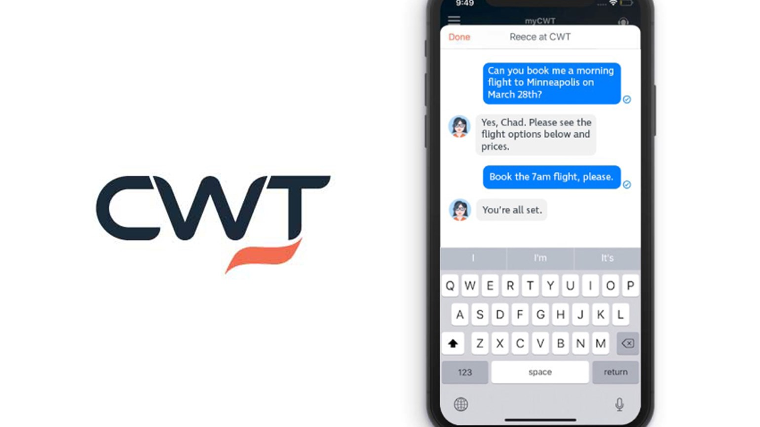 CWT messaging