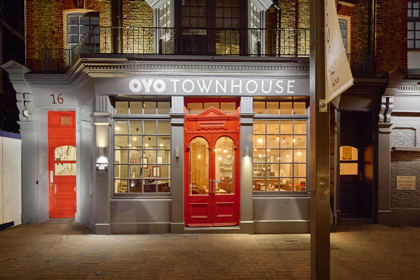 An OYO Townhouse in Ilford, UK
