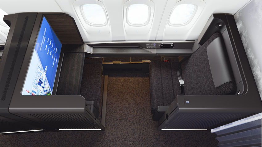 ANA has named its new First Class seat The Suite